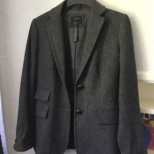 Wool J Crew Hacking jacket